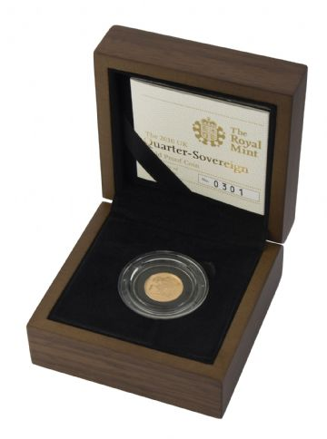 2010 Proof Quarter Sovereign